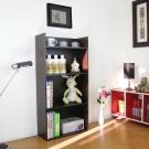 Dr. DIY 寬60公分(4層美背式)收納櫃/置物櫃/書櫃-深咖啡色