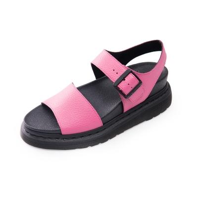 (女) Dr.Martens ROMI 扣環寬帶涼鞋*粉色