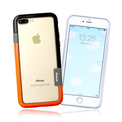VXTRA日韓糖果風 iPhone 8 Plus/ 7 Plus 撞色邊框手機殼...