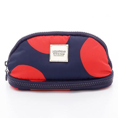 VOVAROVA空氣包-刷具化妝包-波卡圓點(紅)