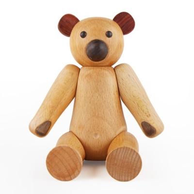Soopsori 原粹木積木 - 森林小木熊