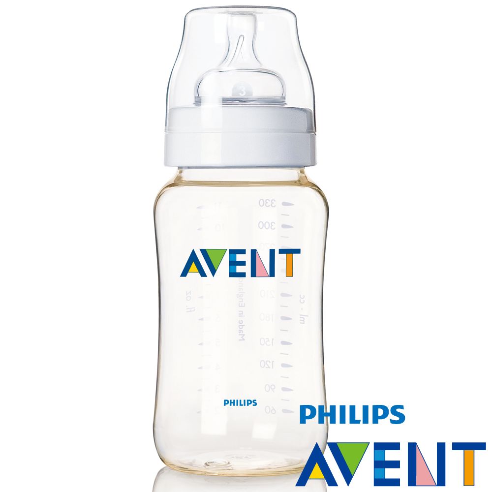 【PHILIPS AVENT】  PES防脹氣奶瓶330ml(單入)