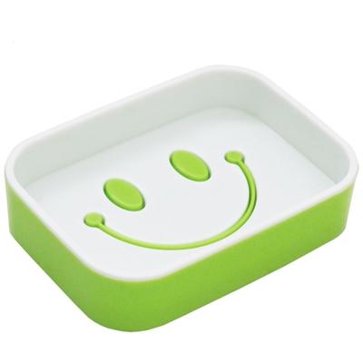 創意笑臉造型雙層大肥皂盒超值3入(Y-8005)
