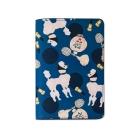 7321 Design 彩繪塗鴉皮革護照套-BBH貴賓犬