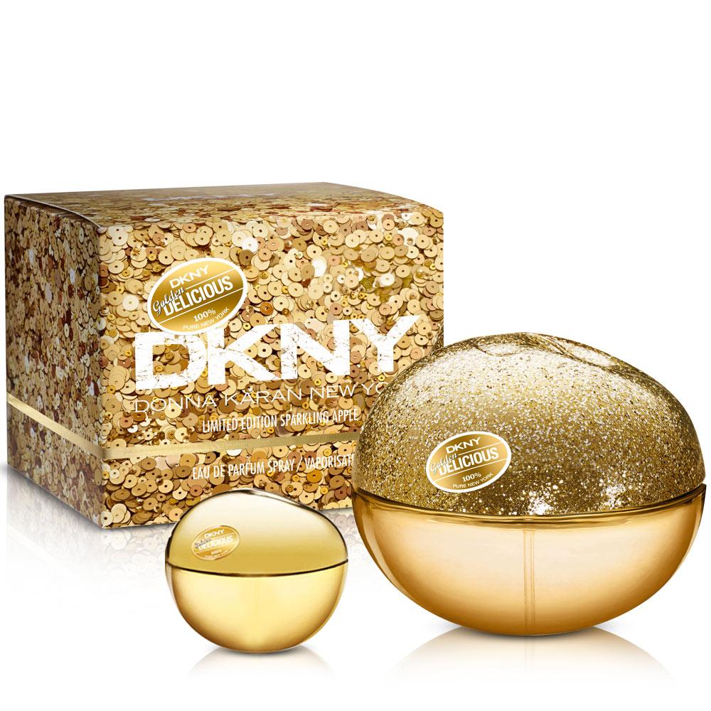 DKNY 晶耀金蘋果女性淡香精(50ml)-送品牌小香
