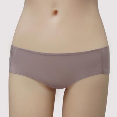 曼黛瑪璉 保氧高脅機能 低腰平口萊克內褲(知性紫)