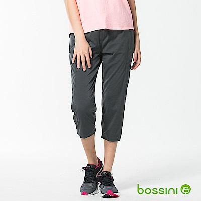 bossini女裝-速乾七分長褲02冷灰