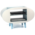 aaronation 愛倫國度 - 橢圓造型電視櫃 UB-PC06-二色可選