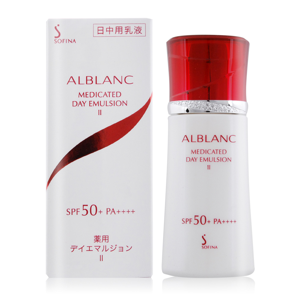 SOFINA蘇菲娜 潤白美膚盈透UV防護乳II升級版SPF50+/PA++++30ml