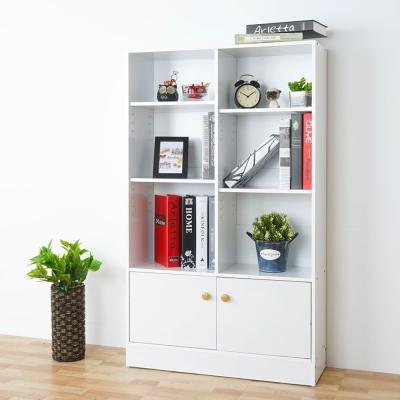 Homelike 瑞希八格二門書櫃(兩色可選)-72x25x120cm