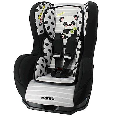 【麗嬰房】Nania 納尼亞 0-4歲安全汽座 卡通動物系列(熊貓黑)
