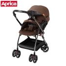 Aprica 四輪自動定位導向型嬰幼兒手推車 Optia新視野 典藏棕