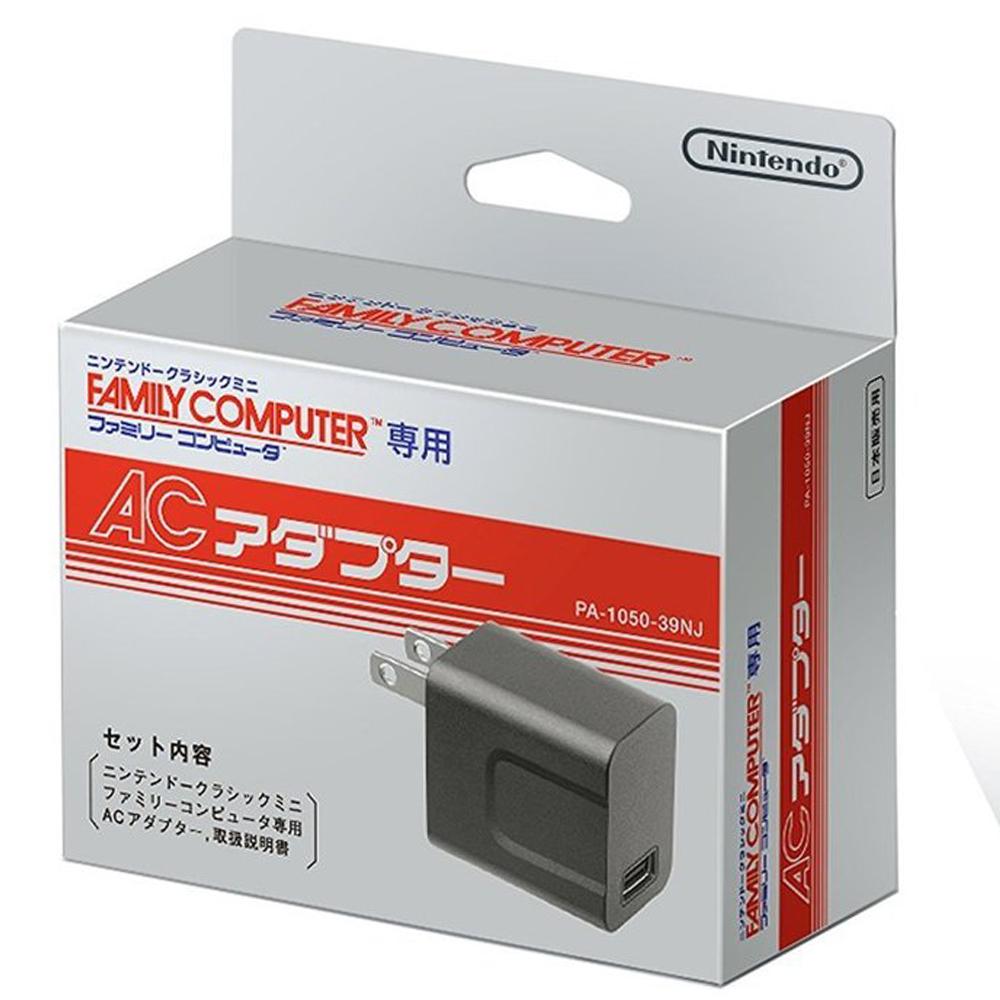 Nintendo 任天堂 FAMICOM Mini 經典迷你紅白機原廠專屬變壓器