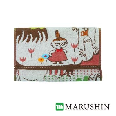 日本丸真Moomin刺繡毛巾-家庭