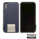 bitplay SNAP!X iPhoneX(5.8吋)專用一秒變單眼耐衝擊相機殼 午夜藍