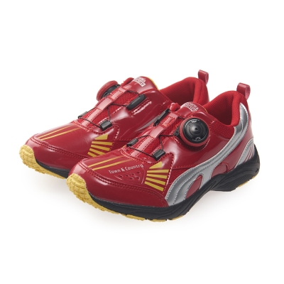 TOWN&COUNTRY 童鞋-撞色輕量運動款*紅色