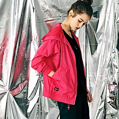 CACO-飛鼠袖尼龍外套(兩色)-女【PST001】