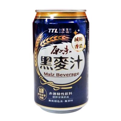 台酒生技 原味黑麥汁(330mlx6罐)