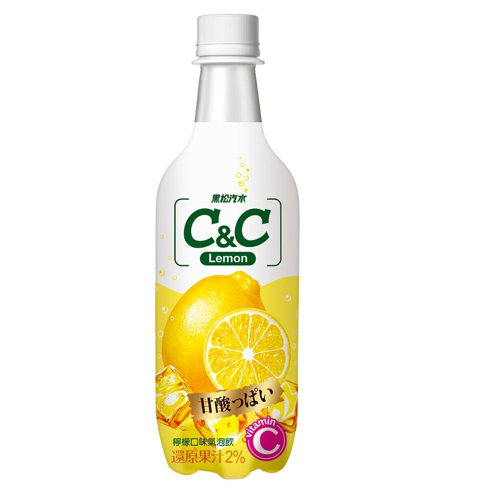黑松汽水C&C汽泡飲(500mlx24入)