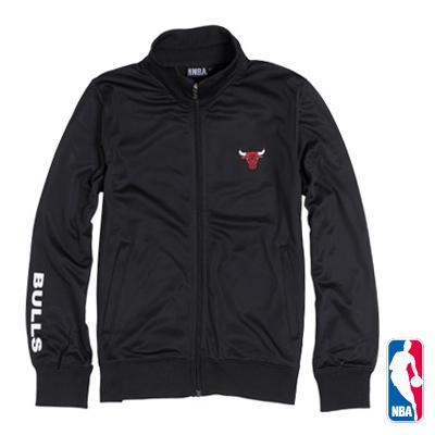 NBA-芝加哥公牛隊休閒外套-黑(女)
