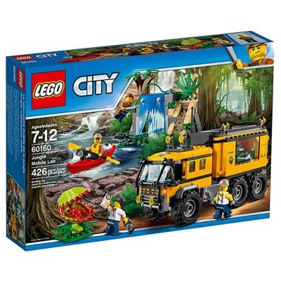 LEGO樂高 城市系列 60160 叢林行動實驗室