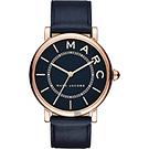 Marc Jacobs M.A.R.C 當代腕錶(MJ1534)-深藍x玫塊金框/36mm