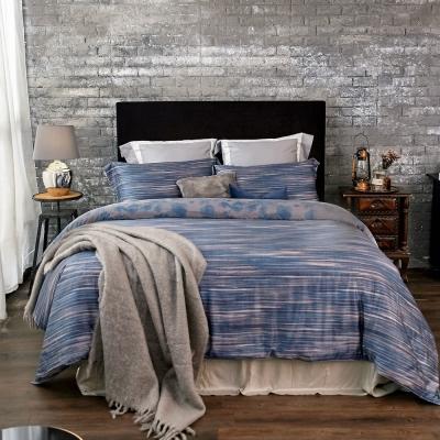 BBL波光夜影100%萊賽爾纖維(天絲)雙人兩用被四件式床包組