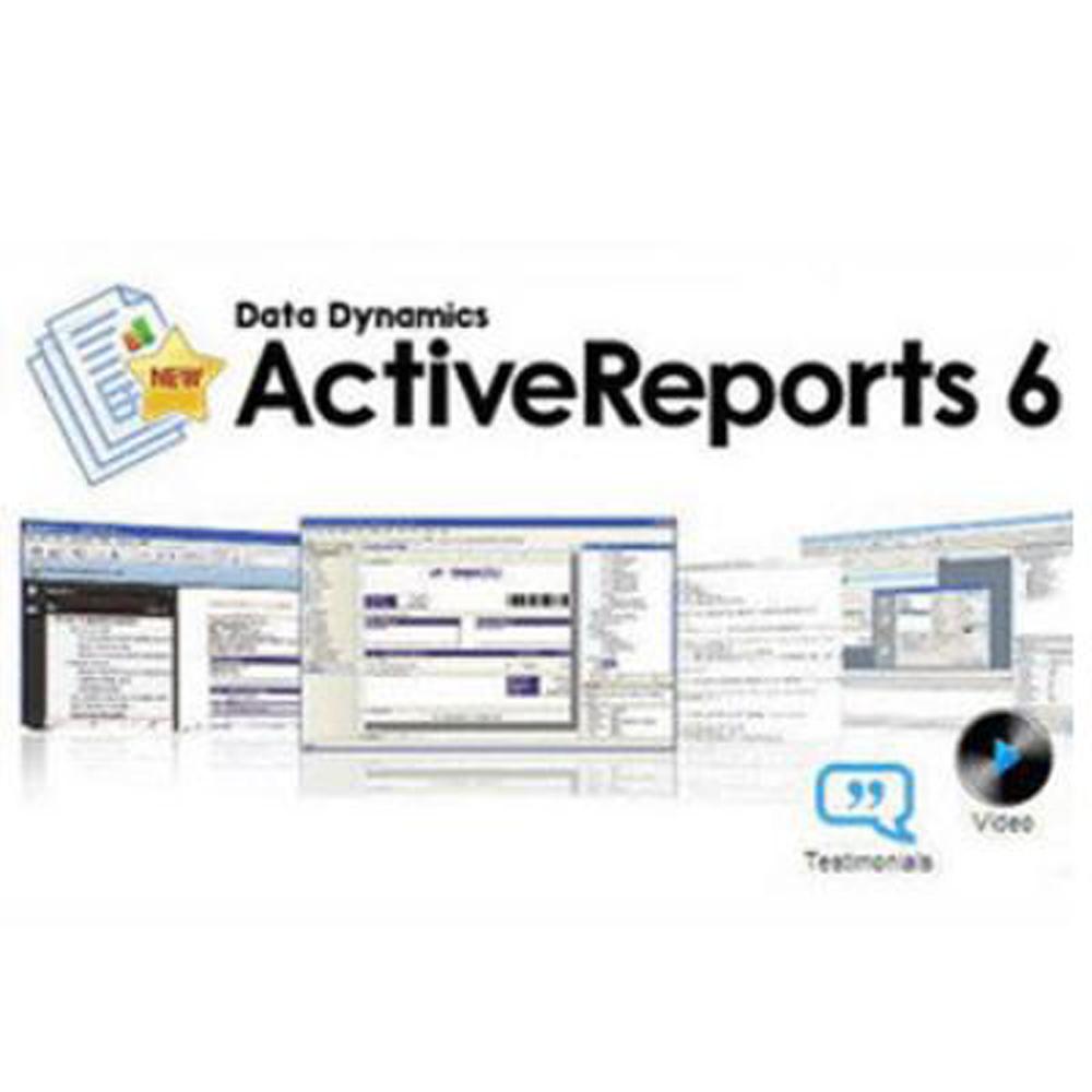 ActiveReports 6 專業版(下載版)