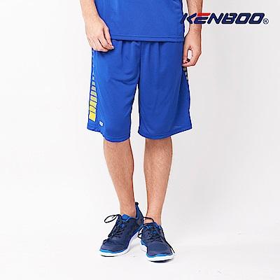 KENBOO吸排籃球褲-寶藍