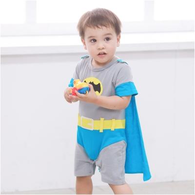baby童衣 男蝙蝠俠短袖連身衣 32007