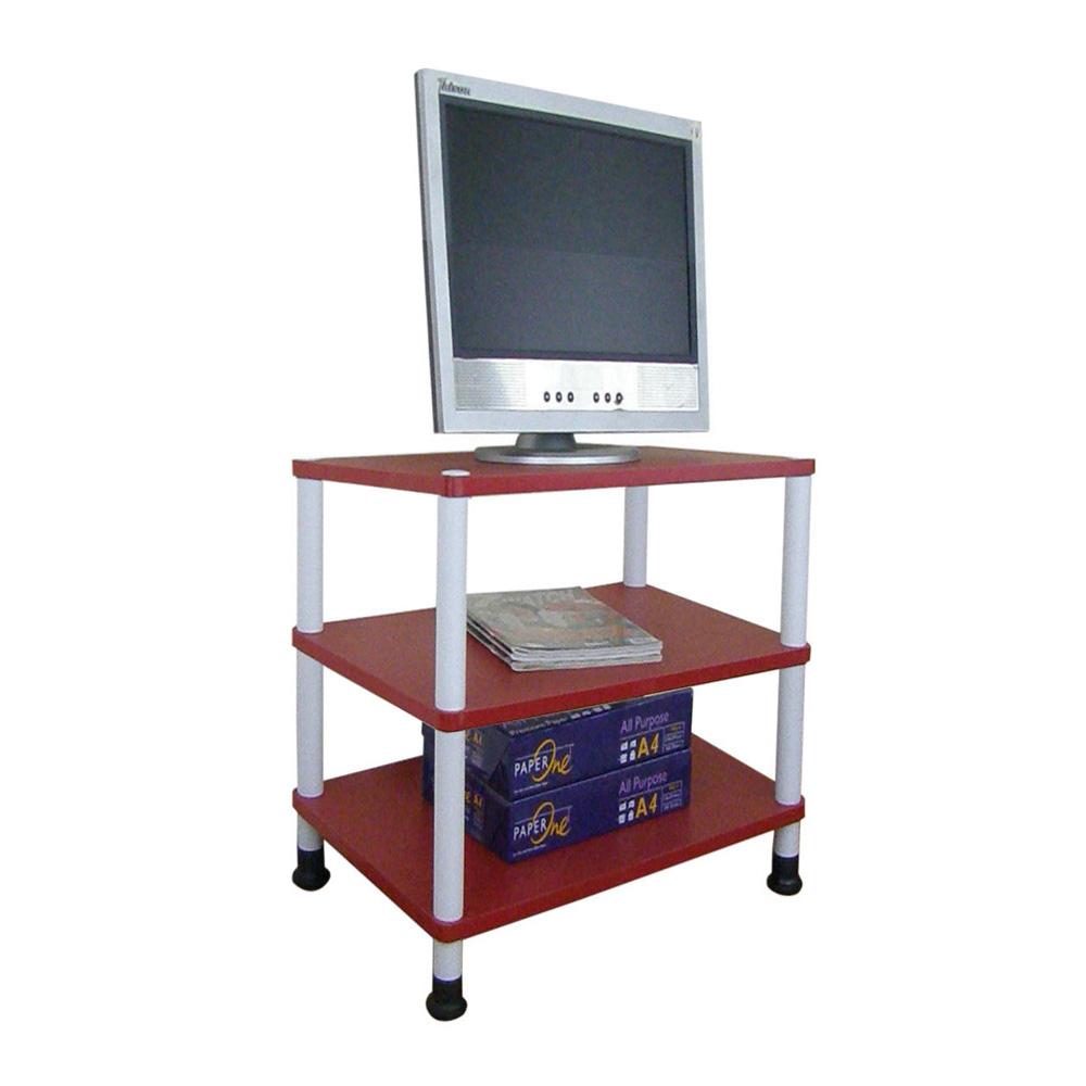 【MIT】40 [寬]三層-電器櫃(二款可選)喜氣紅色