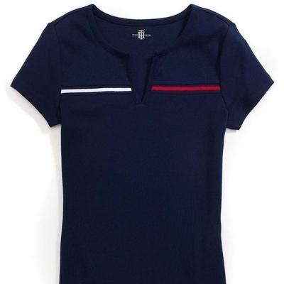Tommy Hilfiger 女 短袖 T恤 藍 0348