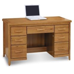 愛比家具 絲莉愛4.2尺柚木實木書桌