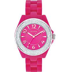 GOTO 奢華時尚系列手錶-桃/39mm