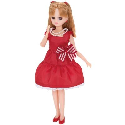 莉卡配件-LW2紅色洋裝