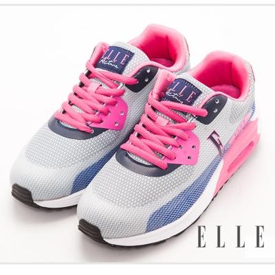 ELLE active 時尚拼接設計運動休閒鞋