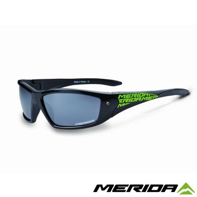 《MERIDA 》美利達護目鏡-2313000946 黑綠 灰片