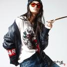 地藏小王 BLUE WAY 妖國亂世系列-浮世繪日式和服鋪棉外套