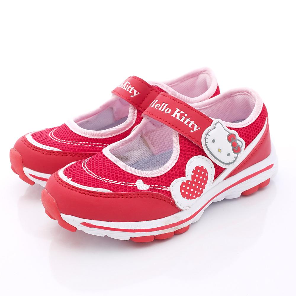 HelloKitty童鞋-機能娃娃款-SE15168紅(中大童段)HC