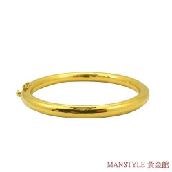 MANSTYLE 無限延伸黃金手環 (約10.25錢)