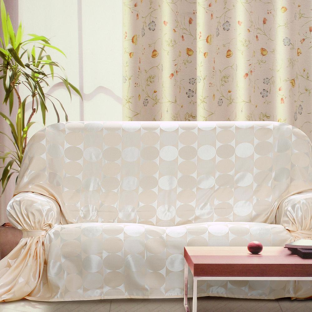 《布安於室》普普風DIY單人座沙發罩-米