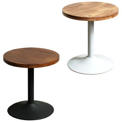 YOI傢俱 工業風洛特圓桌(邊桌/咖啡桌/矮桌)44.5x44.5x48cm