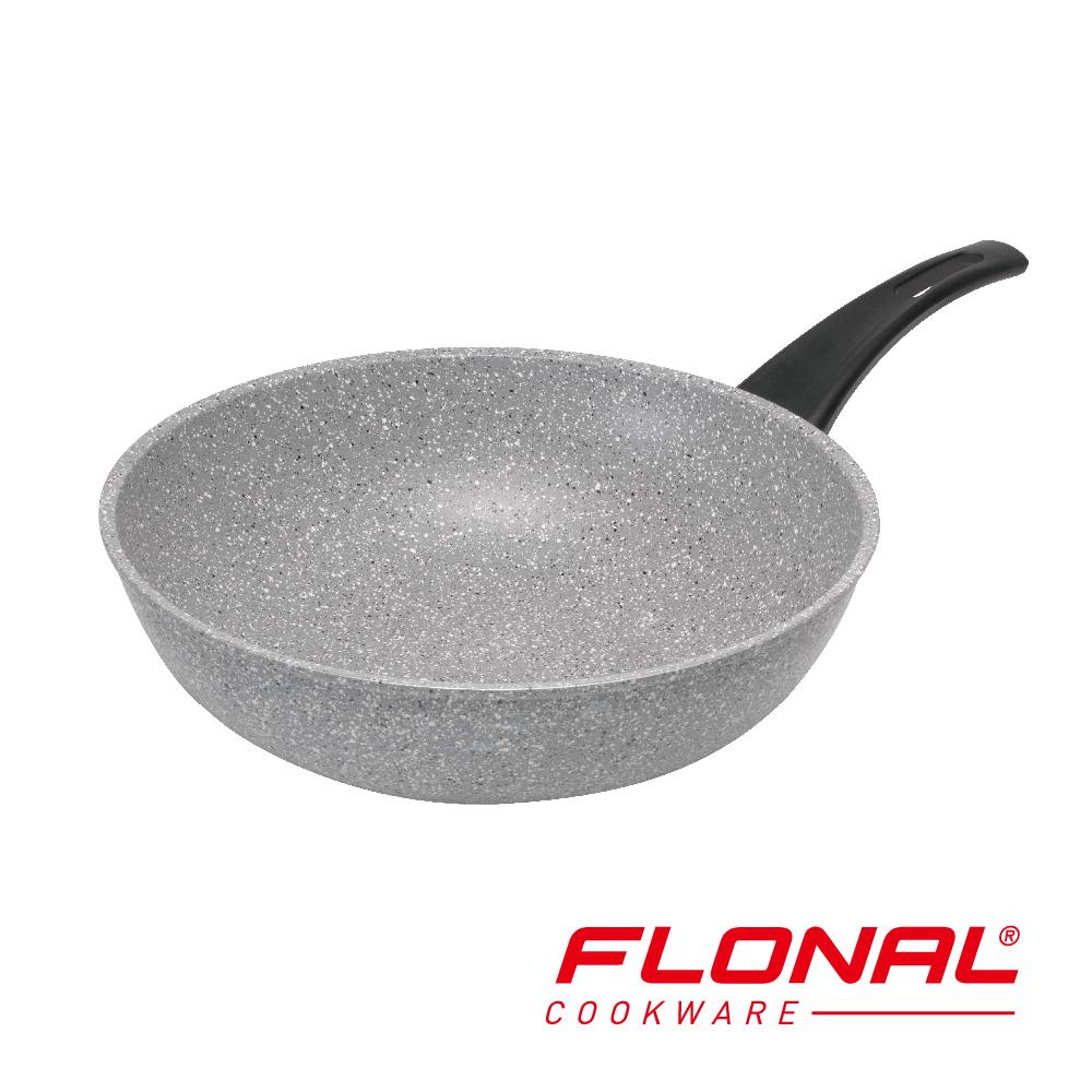 義大利FLONAL新石器不沾導磁炒鍋32cm (8H)