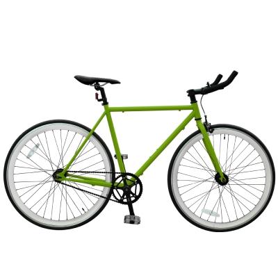 BIKEONE V2_EVO Fixed Gear單速車 英式時尚不敗經典款-綠色系