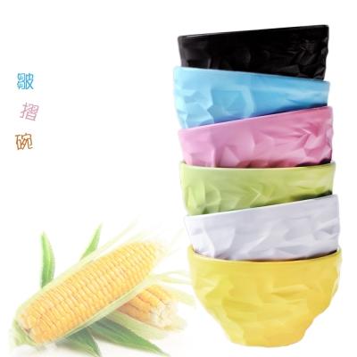 【Cornflower玉米花】美學時尚玉米餐具-皺摺碗1入