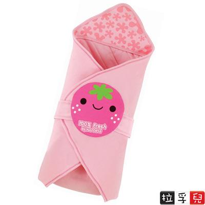 【拉孚兒 Naforye】舒眠系列-田園造型包巾被-草莓