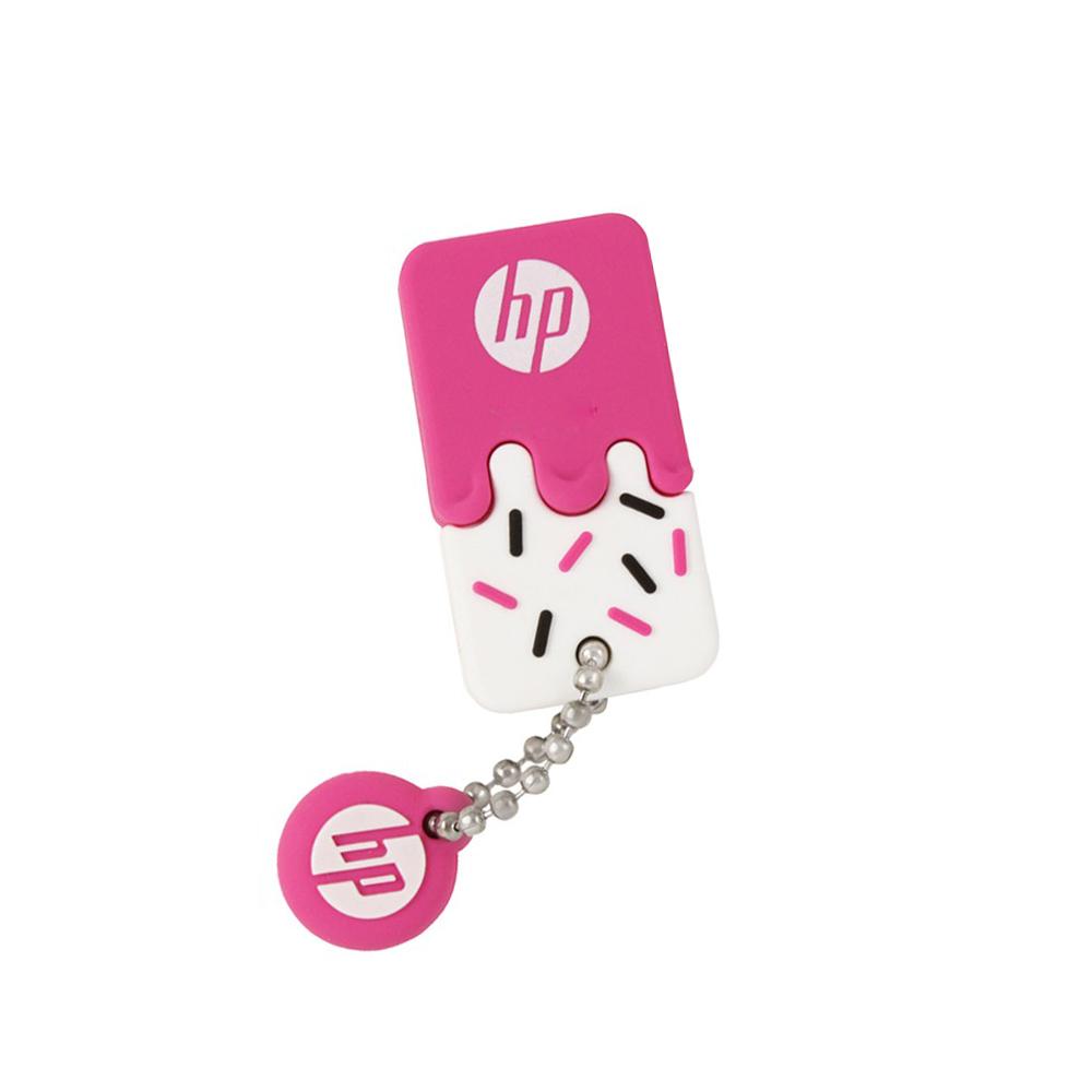 HP 雪糕碟 32GB 超可愛防水造型隨身碟(粉紅)