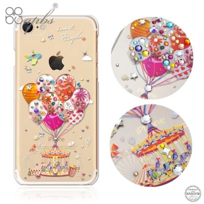 apbs iPhone8/7 4.7吋施華洛世奇彩鑽手機殼-夢想氣球