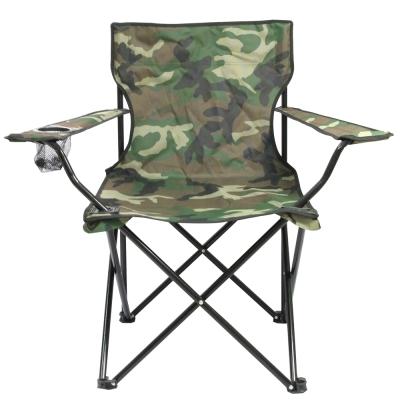 迷幻森林輕量四腳折疊椅-2