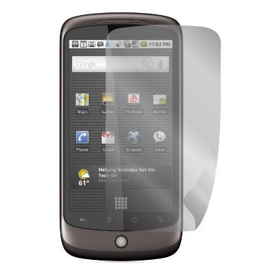 ZIYA Google Nexus One 抗刮螢幕保護貼 (兩入裝)